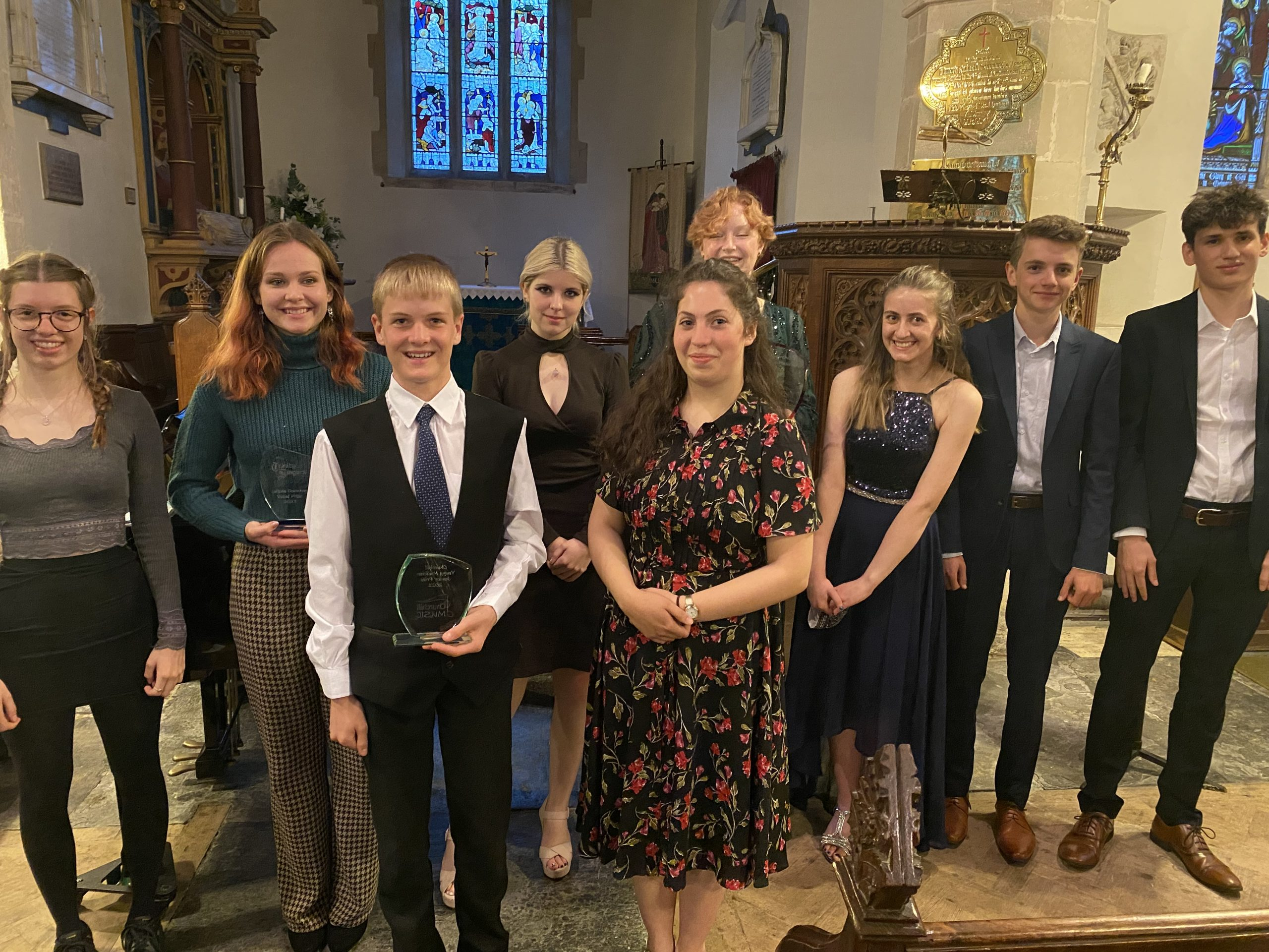 Churchill Music's Young Musician competition went ahead in June even with COVID restrictions.